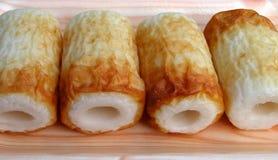 κέικ fishroll στοκ φωτογραφία