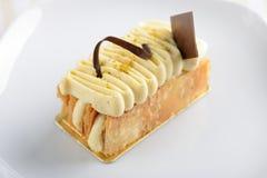 Κέικ Napoleon στοκ εικόνες