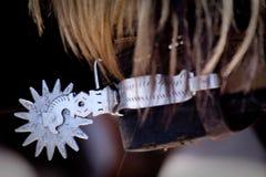 Κέντρισμα για την ιππασία Στοκ Φωτογραφίες
