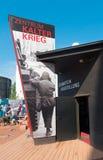 Κέντρο έκθεσης Ψυχρών Πολέμων στο Βερολίνο Στοκ φωτογραφίες με δικαίωμα ελεύθερης χρήσης