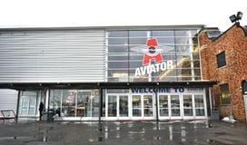 Κέντρο αθλητικών εκδηλώσεων της Νέας Υόρκης Μπρούκλιν αεροπόρων Στοκ Φωτογραφία
