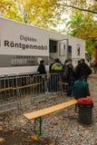 Κέντρο για την υποδοχή και την εγγραφή των προσφύγων - LaGeSo Στοκ φωτογραφίες με δικαίωμα ελεύθερης χρήσης