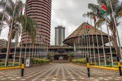 Κέντρο Διεθνών Διασκέψεων Kenyatta Στοκ Εικόνες