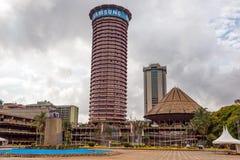 Κέντρο Διεθνών Διασκέψεων Kenyatta Στοκ φωτογραφία με δικαίωμα ελεύθερης χρήσης