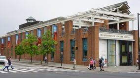 Κέντρο επισκεπτών ανεξαρτησίας στη Φιλαδέλφεια στοκ φωτογραφία με δικαίωμα ελεύθερης χρήσης