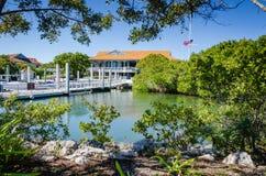 Κέντρο επισκεπτών του Dante Fascell - εθνικό πάρκο Bicayne - Φλώριδα Στοκ Εικόνες
