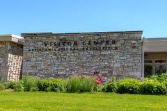 Κέντρο επισκεπτών NPS στο εθνικό πεδίο μάχη Antietam Στοκ εικόνα με δικαίωμα ελεύθερης χρήσης