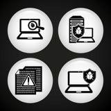 Κέντρο δεδομένων Στοκ φωτογραφίες με δικαίωμα ελεύθερης χρήσης