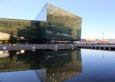 Κέντρο διαλέξεων του Ρέικιαβικ Στοκ φωτογραφίες με δικαίωμα ελεύθερης χρήσης