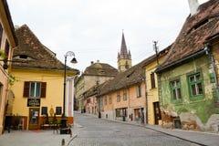 κέντρο ιστορικό Sibiu Στοκ φωτογραφία με δικαίωμα ελεύθερης χρήσης