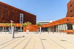 Κέντρο διδασκαλίας του πανεπιστημίου της Βιέννης των οικονομικών και της επιχείρησης στοκ εικόνες με δικαίωμα ελεύθερης χρήσης