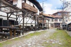 Κέντρο Μπάνσκο Βουλγαρία σκι Στοκ εικόνα με δικαίωμα ελεύθερης χρήσης