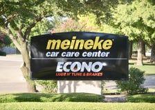 Κέντρο περίθαλψης αυτοκινήτων Meineke, Fort Worth, Τέξας στοκ εικόνα