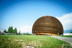Κέντρο Πυρηνικών Μελετών και Ερευνών (CERN), Γενεύη στοκ φωτογραφία με δικαίωμα ελεύθερης χρήσης