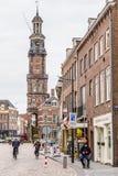 Κέντρο πόλεων άποψης οδών Zutphen στις Κάτω Χώρες στοκ φωτογραφίες με δικαίωμα ελεύθερης χρήσης
