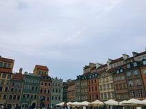 Κέντρο πόλεων της Βαρσοβίας στοκ φωτογραφία με δικαίωμα ελεύθερης χρήσης