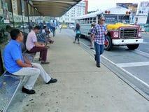 Κέντρο πόλεων του Παναμά στοκ εικόνα με δικαίωμα ελεύθερης χρήσης