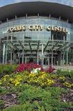 Κέντρο πόλεων Polus στοκ εικόνα