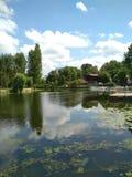 Κέντρο πόλεων Ternopil Ουκρανία Στοκ Φωτογραφία