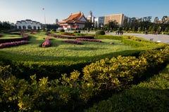 Κέντρο πόλεων της Ταϊπέι Στοκ εικόνα με δικαίωμα ελεύθερης χρήσης