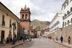 Κέντρο πόλεων Cuzco Στοκ Εικόνες
