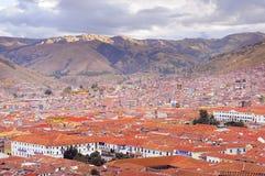 Κέντρο πόλεων Cuzco Στοκ εικόνα με δικαίωμα ελεύθερης χρήσης