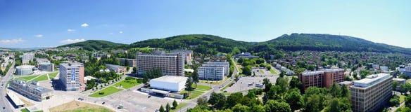 Κέντρο πόλεων Zlin Στοκ εικόνα με δικαίωμα ελεύθερης χρήσης
