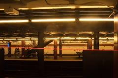 Κέντρο σταθμών μετρό 47-50 Sts Rockefeller της Νέας Υόρκης Στοκ εικόνα με δικαίωμα ελεύθερης χρήσης