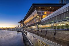 Κέντρο Συνθηκών του Βανκούβερ στοκ φωτογραφία