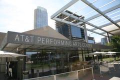 Κέντρο τεχνών προς θέαση της AT&T στοκ φωτογραφίες με δικαίωμα ελεύθερης χρήσης