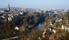 Κέντρο της Βέρνης το πρωί στοκ εικόνες με δικαίωμα ελεύθερης χρήσης