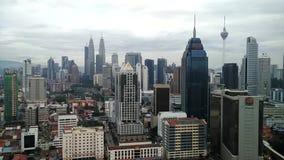 Κέντρο της πόλης της Κουάλα Λουμπούρ, Μαλαισία απόθεμα βίντεο