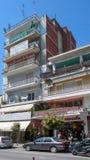 Κέντρο της πόλης των Σέρρες, Ελλάδα στοκ φωτογραφίες