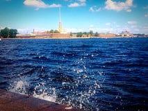 Κέντρο της πόλης της Αγία Πετρούπολης Στοκ Εικόνες