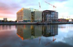 Κέντρο της πόλης του Δουβλίνου Στοκ Εικόνες