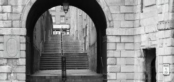 Κέντρο της πόλης του Δουβλίνου Στοκ εικόνα με δικαίωμα ελεύθερης χρήσης