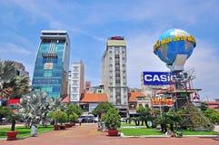 Κέντρο της πόλης του Ho Chi Minh, Βιετνάμ Στοκ φωτογραφίες με δικαίωμα ελεύθερης χρήσης