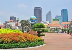 Κέντρο της πόλης του Ho Chi Minh Στοκ εικόνα με δικαίωμα ελεύθερης χρήσης