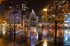κέντρο της πόλης Στοκ Φωτογραφίες