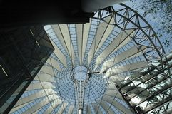 Κέντρο της Sony στο Βερολίνο στοκ φωτογραφίες με δικαίωμα ελεύθερης χρήσης