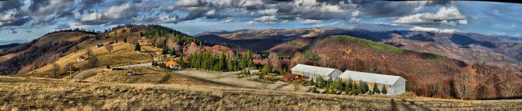 Κέντρο τουριστών βουνών, Μακεδονία Στοκ Εικόνα