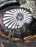 Κέντρο του Βερολίνου Sony Στοκ Εικόνα