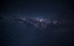 Κέντρο του γαλαξία Στοκ Φωτογραφία