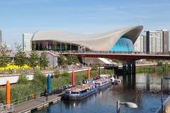 Κέντρο του Λονδίνου Aquatics και κοιλάδα της Lea Στοκ φωτογραφία με δικαίωμα ελεύθερης χρήσης