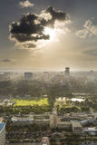 Κέντρο του Ναϊρόμπι και πάρκο Uhuru, Κένυα Στοκ Εικόνες