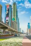 Κέντρο του Ντουμπάι Finantial Στοκ φωτογραφία με δικαίωμα ελεύθερης χρήσης