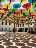 Κέντρο του Τελ Αβίβ Suzanne Dellal για το χορό και θέατρο με Colorf Στοκ εικόνες με δικαίωμα ελεύθερης χρήσης