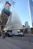 Κέντρο του World Trade Center και 9/11 αναμνηστική Νέα Υόρκη, ΗΠΑ Στοκ φωτογραφίες με δικαίωμα ελεύθερης χρήσης