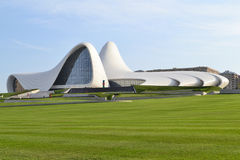 Κέντρο Aliyev Heydar Στοκ Εικόνα
