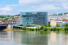 Κέντρο ARS Electronica, Λιντς Στοκ εικόνα με δικαίωμα ελεύθερης χρήσης